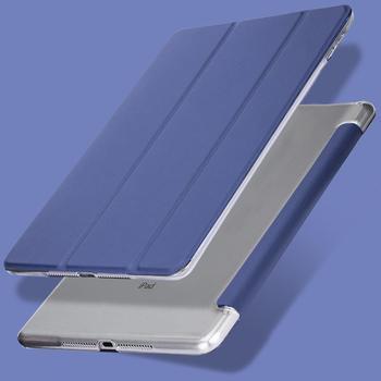 QIJUN skrzynka dla iPad Air 1 9.7 cal Fundas dla ipad 5 air1 A1474 A1475 A1476 9.7 PC z powrotem PU skóra Smart Cover automatycznego uśpienia