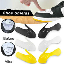 1 Pair Shoe Shield Sneaker Anti Crease Washable Toe Caps Protector Shoe Stretcher Expander Shaper Support Shoes Accessories