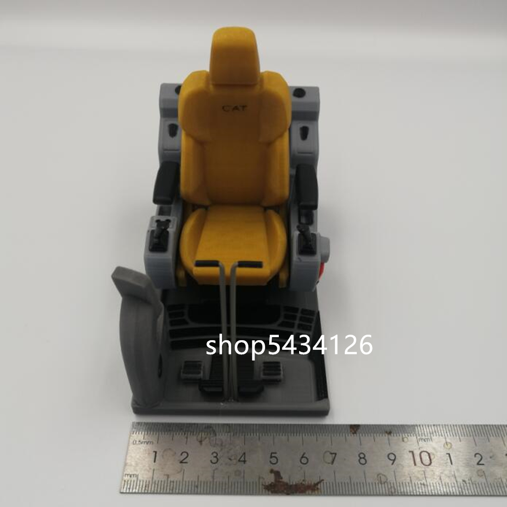 rc escavadeira hidraulica taxi interior assento 02