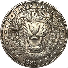 Moneda de León para Hobo, regalo de recuerdo