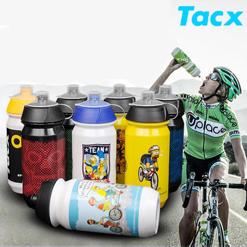 500 ML Cycling Bike Water Bottle Bicycle Portable Kettle Water Bottle Plastic Outdoor Sports Mountain Bike Drinkware
