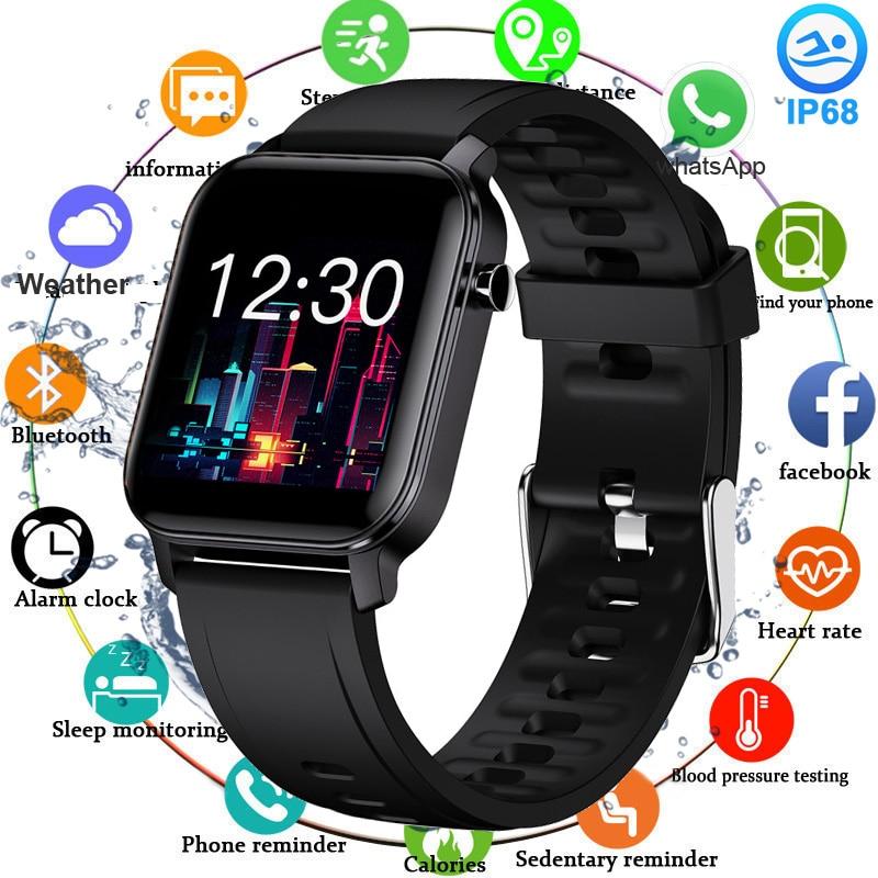2020 Full Touch Smart Watch Ip68 Waterproof Sport Smartwatch Women Men Pedometer Fitness Tracker Watch Blood Pressure Heart Rate|Smart Watches| - AliExpress