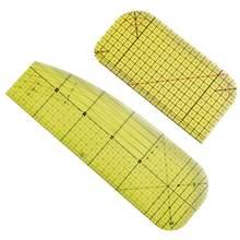 Regla de planchado en caliente, resistente al calor, juego de reglas de planchado de alta temperatura, regla especial de hierro, Parche de sastre
