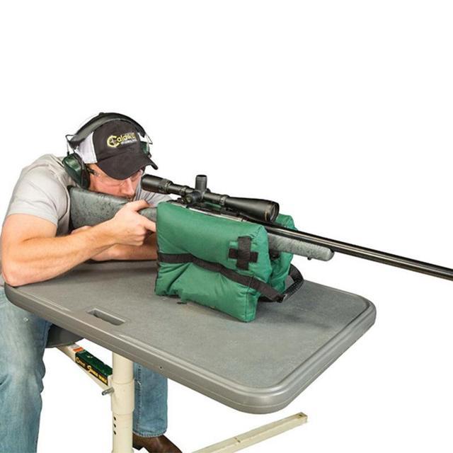 Снайперская Оружейная сумка пистолет Передняя Задняя сумка мишень винтовка Поддержка с песком скамья без наполнения наружная кнопка, вколачивание Охотничья винтовка
