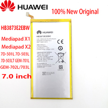 """100% מקורי HB3873E2EBC 5000mAh סוללה עבור Huawei Mediapad X1 X2 7.0 """"/7D 501U 7D 501L 7D 503L 7D 503LT GEM 701L GEM 702L/703L"""