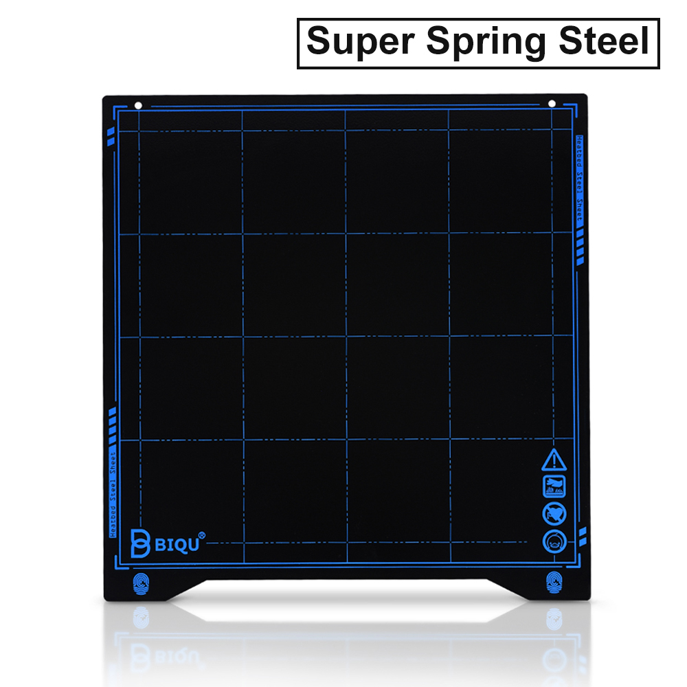 BIQU SSS Super Spring Steel Sheet Heat Bed Platform 235*235MM 3D Printer Parts Printing Buildplate PLA PETG For Ender-3 Printer