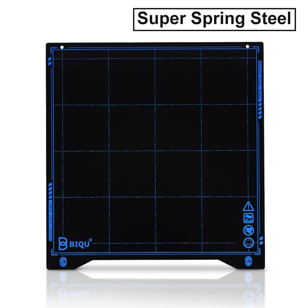 Biqu Sss Super Lente Staalplaat Warmte Bed Platform 235*235 Mm 3D Printer Onderdelen Afdrukken Buildplate Pla Petg voor Ender-3 Printer