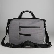 Cai Fashion Unisex Big Capacity Nylon Waterproof Book Laptop Bag Protective Case Cover Computer Bags men school Shoulder