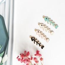10pcs Oil Drop Fish Bones Enamel Charms Gold Tone Alloy Pendants Jewelry Making Bracelets Earrings DIY Womens Accessories FX142 недорого