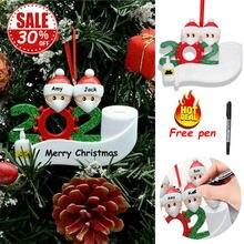 2021 рождественская подвеска с Санта Клаусом; «сделай сам» чехол