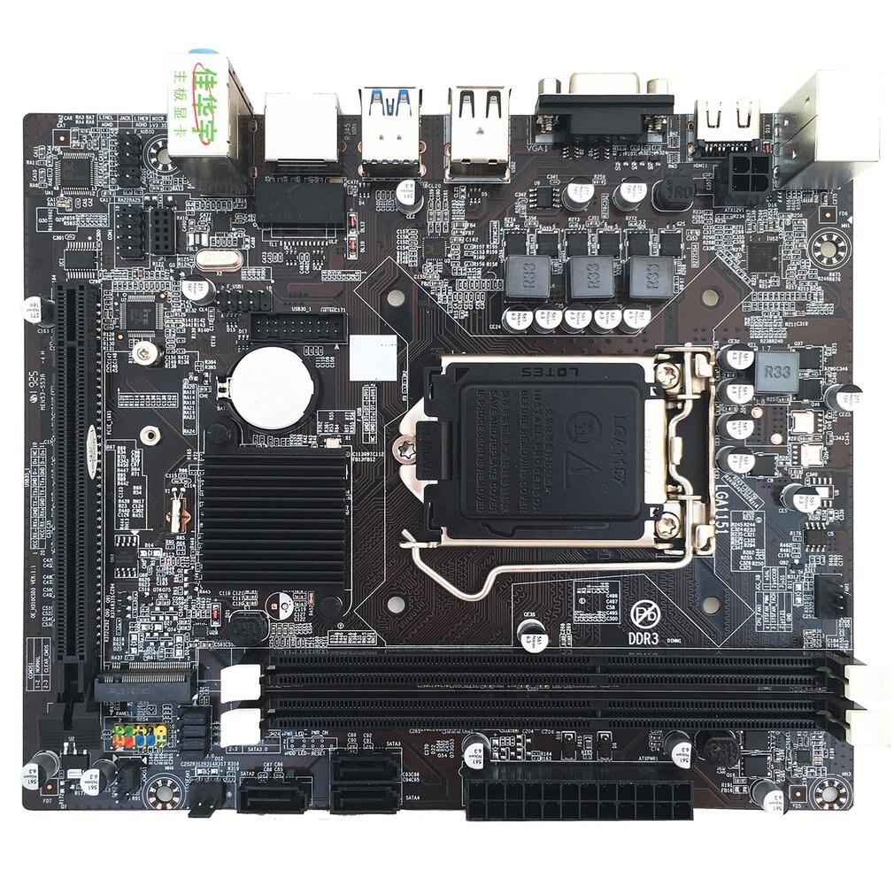 H310 Computer Motherboard LGA1151 DDR3 Hard Disk M.2 Core 6th, 7th, 8th Computer Motherboard 8 Channel Replacement
