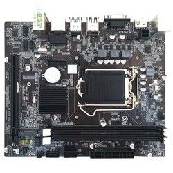 Placa base para ordenador H310 LGA1151 DDR3 Disco Duro m2 Core 6th, 7th, 8th placa base para ordenador reemplazo de 8 canales