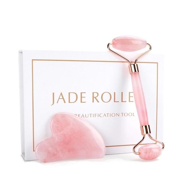 Deciniee Rose Quartz Jade Roller 6