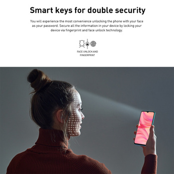 Global Version Infinix Hot 10 Lite 2GB 32GB Mobile Phone 6.6''HD Screen Smart Phone 5000mAh Battery 13MP AI Triple Camera 4