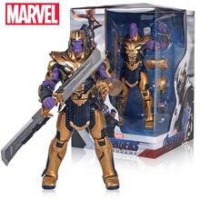 Figurines d'action originales Marvel Avengers 4 Thanos, jouets de 8 pouces, Avengers 4 Endgame, Thanos Infinity gantelet, cadeaux de noël
