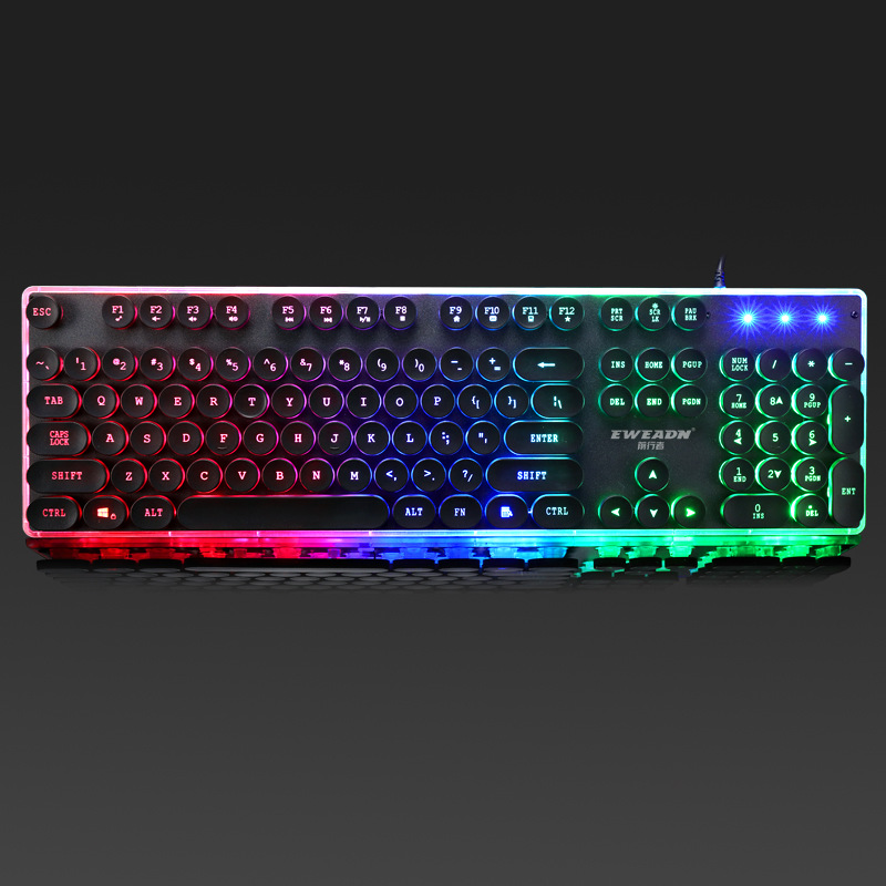 Former Walker Gx60 Punk Machinery Handfeel Keyboard Chicken Gaming Keyboard AliExpress Keyboard