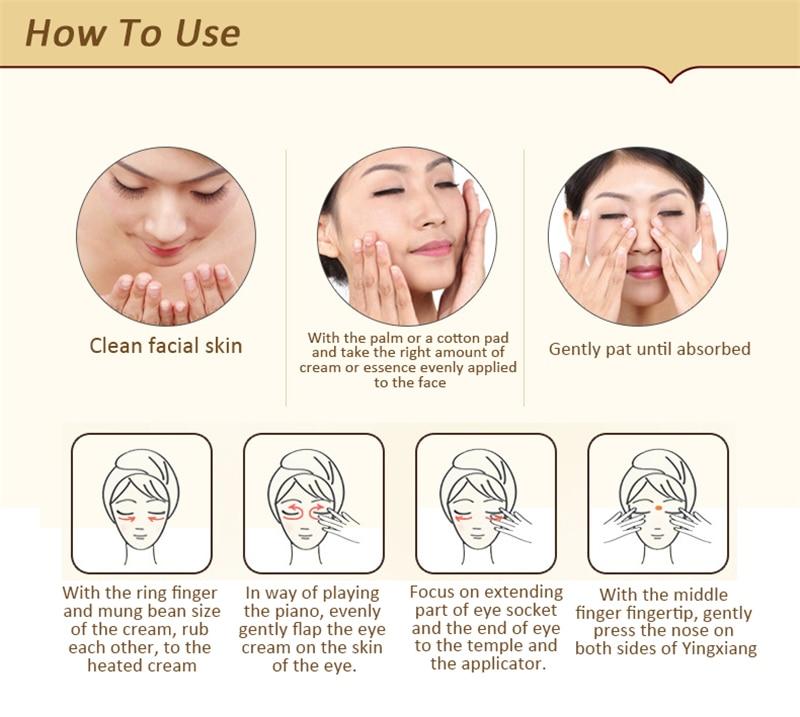 para os olhos limpador anti envelhecimento reparação