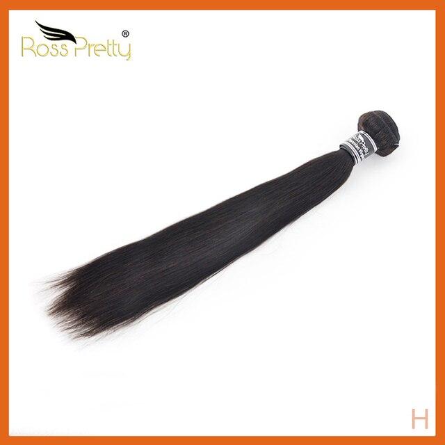 רוס די ישר שיער חבילות ברזילאי שיער Weave חבילות 8 30 Inch רמי שיער טבעי חבילות הארכת שיער