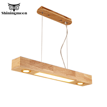 Japanese Style Wood Dinning Room Pendant Lights Vintage Home Decor Kitchen Pendant Lamp Restaurant Hanging Lamp Lustre Luminaria 2018 american village retro originality restaurant wall lamp chinese style wood bamboo personality home decor luminaria lights