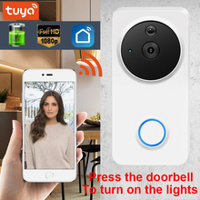 Tuay Smart Video Doorbell Smart Wireless WiFi Security Door Bell Visual Recordin
