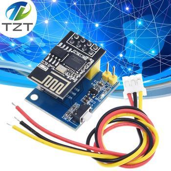 ESP8266 ESP-01 ESP-01S WS2812 RGB LED módulo controlador Arduino IDE WS2812 anillo de luz inteligente electrónica DIY con esp-01