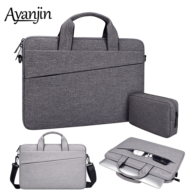 High Capacity Shoulder Bags 13 14 15 15 6 inch Laptop Bag For font b Macbook