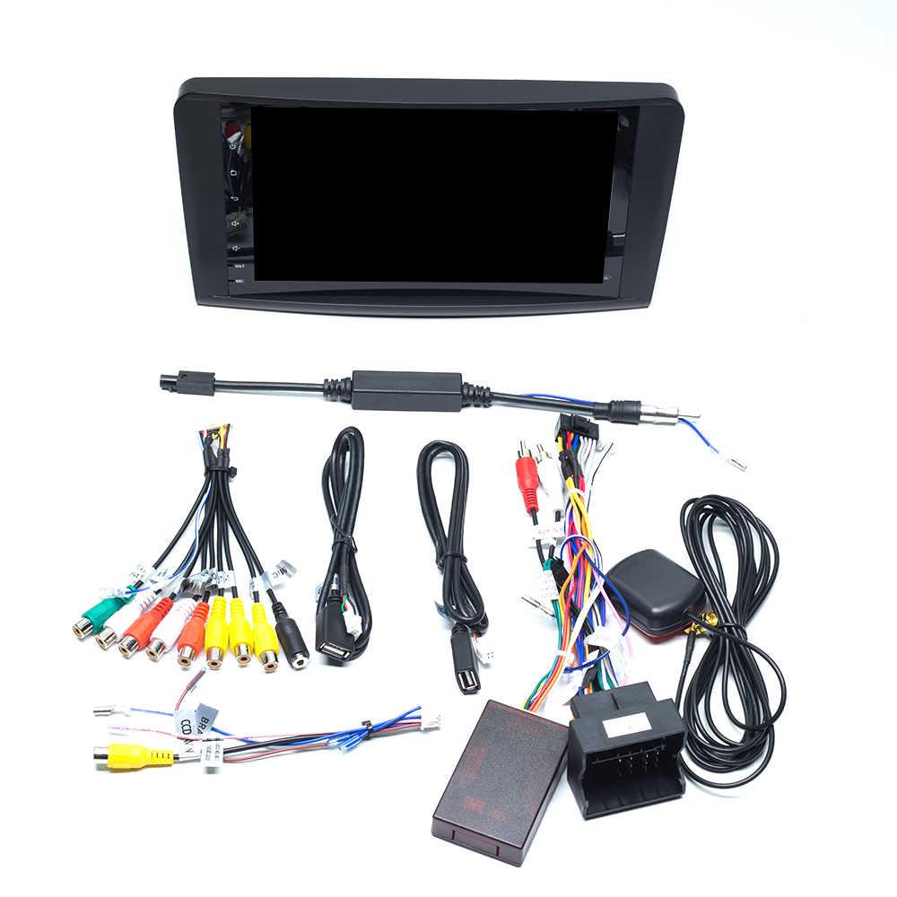 2 + 16 グラム IPS DSP Android 10 車ラジオメルセデス · ベンツ Ml W164 ML350 ML500 X164 GL320 GL マルチメディア GPS ナビゲーションステレオオーディオ
