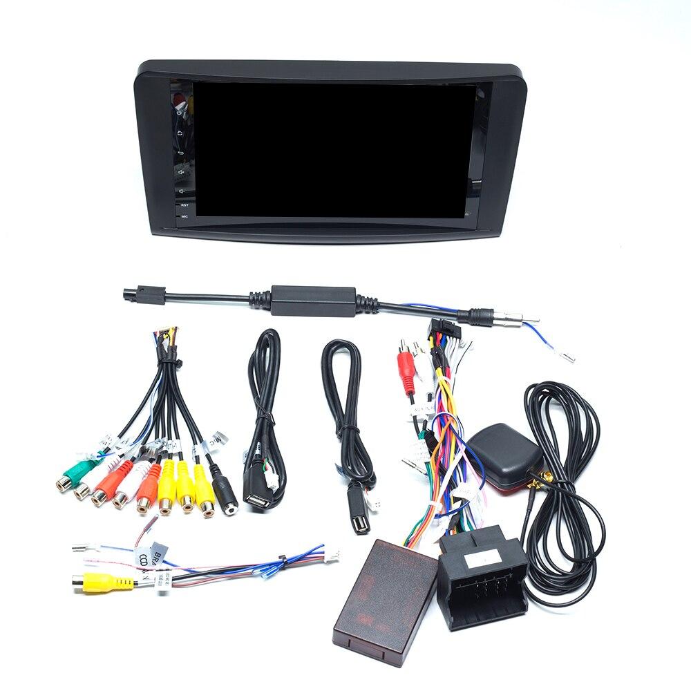 Autoradio 2 Din Android 9.0 pour Mercedes Benz ML W164 ML350 ML500 X164 GL320 GL multimédia GPS Navigation unité Audio stéréo - 6