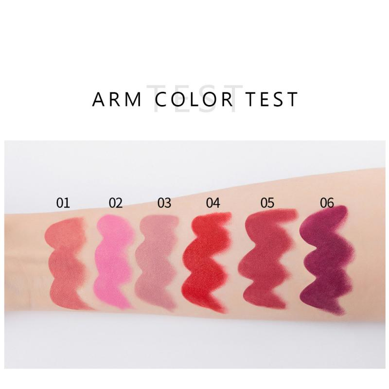 Waterproof Lipstick Set - 6 pcs Long Lasting Sexy 7