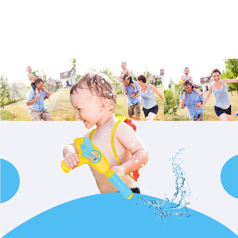 cheapest Spraying Water Children Fire Backpack Sprayer Summer Toy Air Pressure for Beach Lake Tourism and Outdoor Activities For Kid Toys