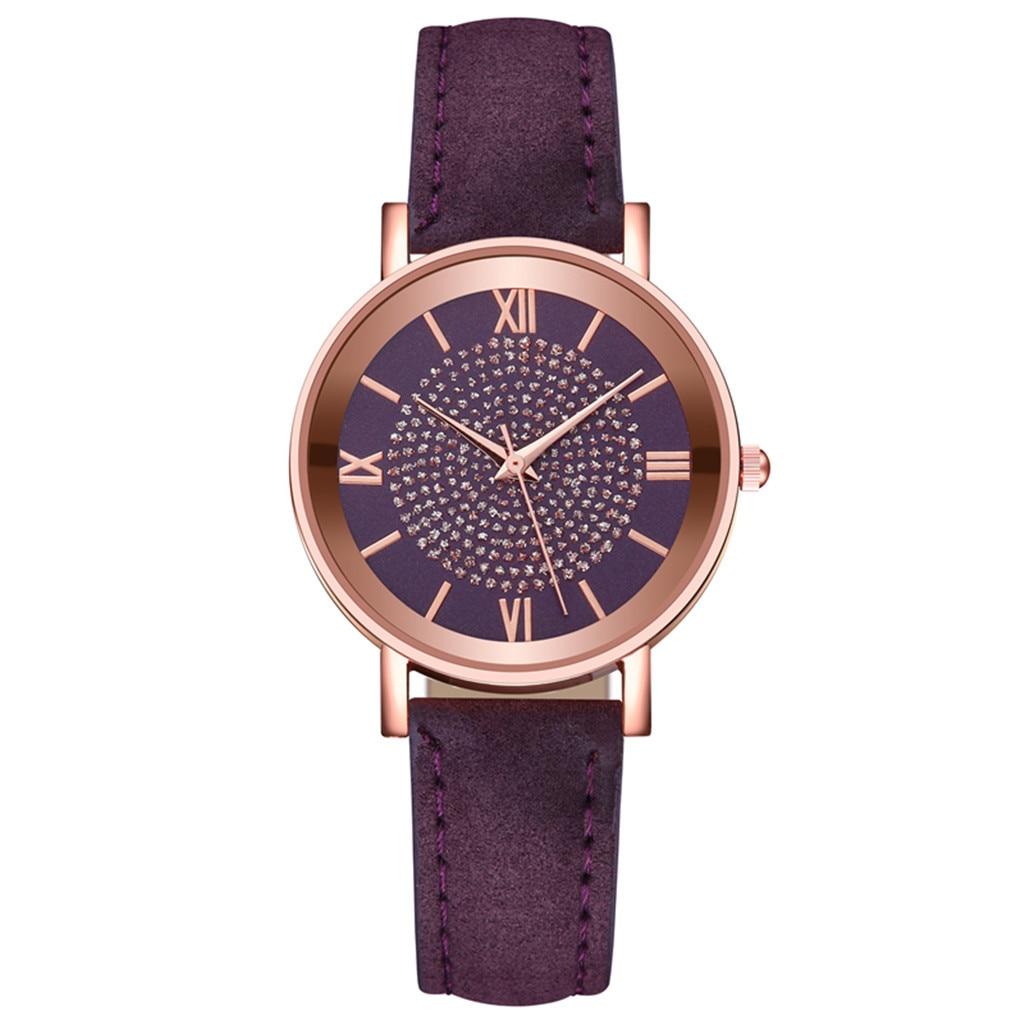 Quartz Watch Luxury Leather Women Watches Vintage Dial Designer Ladies Clock For Ladies Sports Dress Clock Reloj Mujer Gift