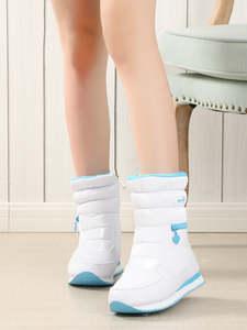 Женские зимние ботинки, теплые ботинки из натуральной шерсти белого цвета на молнии, большие размеры, бесплатная доставка, 2019