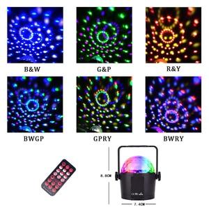 Image 4 - Disco Dj Licht Dmx Podium Verlichting Moving Luces Led Par Disco Bal Strobe Licht Kerst Halloween Decoraties Projector Voor Thuis
