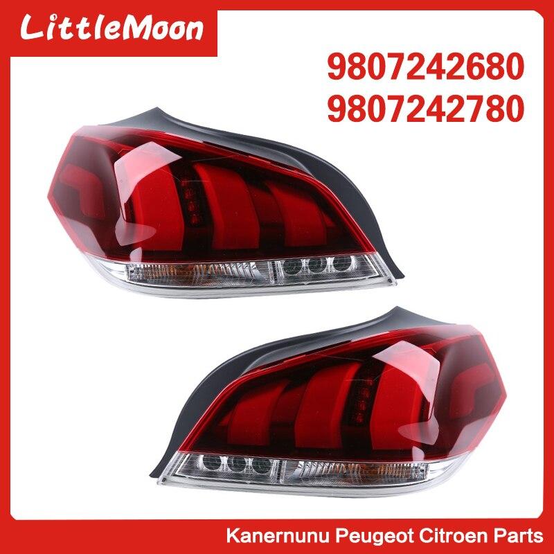 Специальный новый задний фонарь в сборе, задний стоп-сигнал, светильник заднего хода 9087242680 9807242780 для Peugeot 508 15-18
