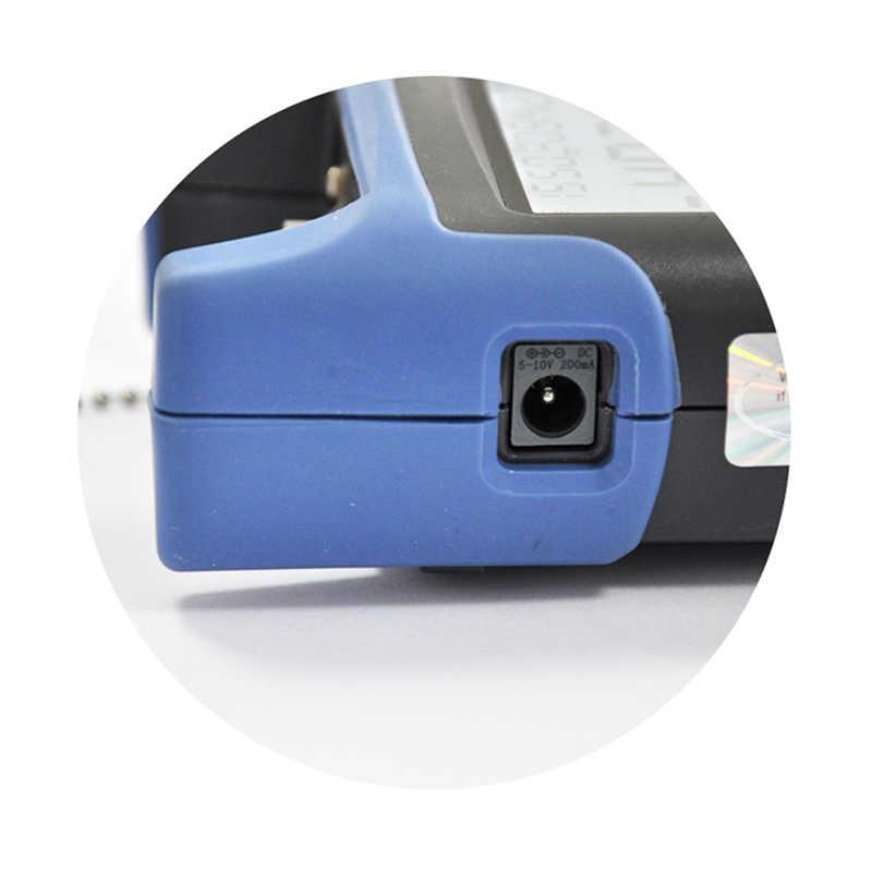 Medidor de potencia óptica de fibra JW3216 con función de almacenamiento de datos y USB