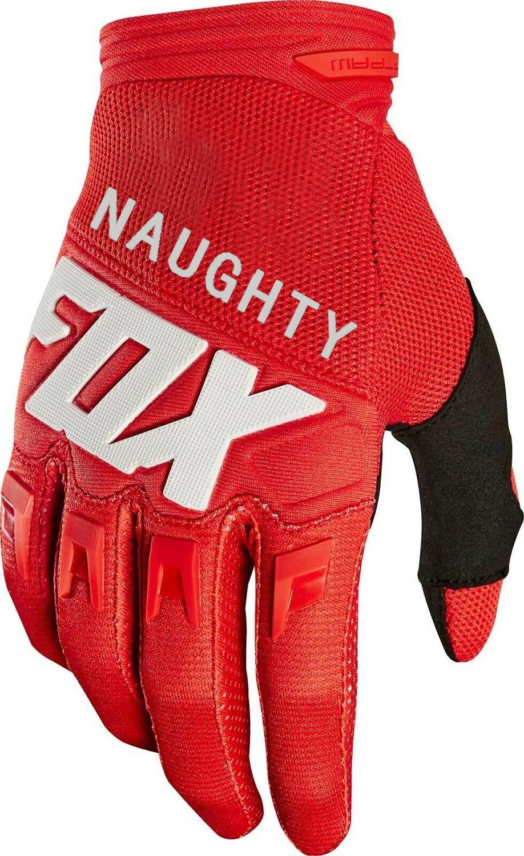 NAUGHTY FOX Dirtpaw Race Gloves Off Road MX Enduro Racing MTB BMX Bicycle Cycling 180/360 Gloves