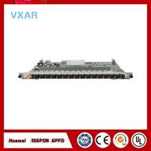 цена на Original HUA WEI GPFD 16 port GPON card for MA5680T MA5600T or MA5683T OLT GPBD board with 16 SFP modules