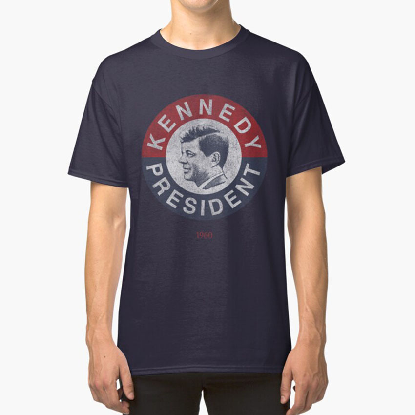 Vintage 1960 Kennedy For President T - <font><b>Shirt</b></font> T - <font><b>Shirt</b></font> Jfk President Election Republican <font><b>Democrat</b></font> History John F Kennedy Vintage image