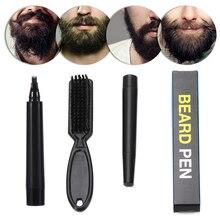 Repair-Tools Pencil-Filler Beard Natural-Finish Hair Mustache 1set Long-Lasting Male