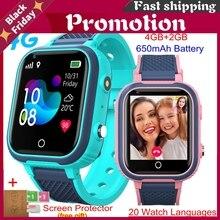Lt21 4g Smart Watch Kids Gps Wifi Video Call Sos Ip67 Waterproof Child Smartwatch Camera Monitor Tracker Location Phone Watch