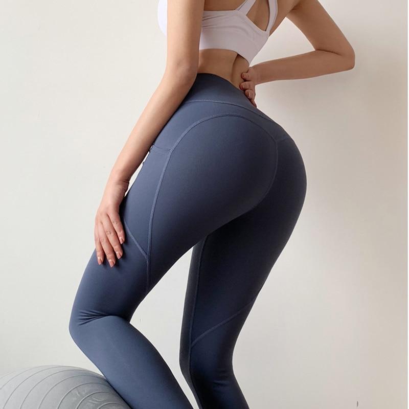 Black Pant Trousers Full Length High Elastic Polyester Tight Fall Ropa De Invierno Para Mujer Thin Blue Women Pants China