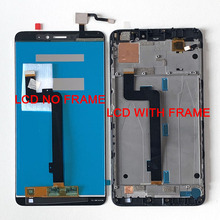 """6.44""""Original M&Sen For Xiaomi Mi Max 2 LCD Screen Display+Touch Panel Digitizer Frame For Mi Max 2 Lcd Display Touch Screen"""