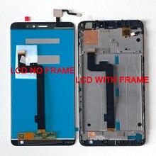 "6.44 ""Xiaomi Mi Max 2 LCD 스크린 디스플레이 + Mi Max 2 Lcd 디스플레이 터치 스크린 용 터치 패널 디지타이저 프레임"