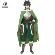 цены ROLECOS The Rising of the Shield Hero Cosplay Costume Naofumi Iwatani Costume Cosplay Shoes Cover Hero Cloak Men Halloween Party