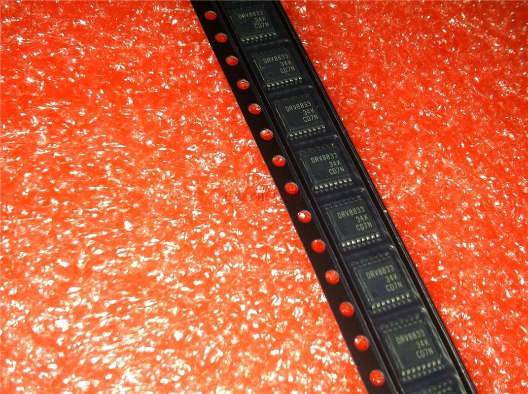 10 pçs/lote DRV8833PWPR DRV8833PWP DRV8833 TSSOP16 Em Estoque
