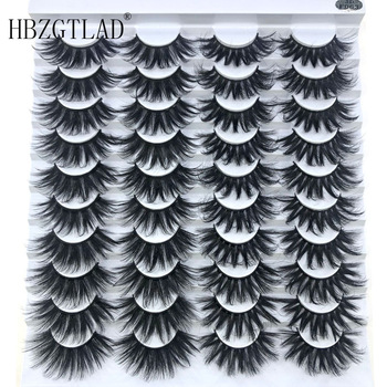 New 2/10/ 20 pairs natural false eyelashes fake lashes long makeup 3d mink eyelashes eyelash extension mink eyelashes for beauty 1