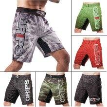 MMA Camouflage fitness ferocious Grips geometric boxing shorts Tiger Muay Thai mma shorts boxing clothing fight shorts sanda