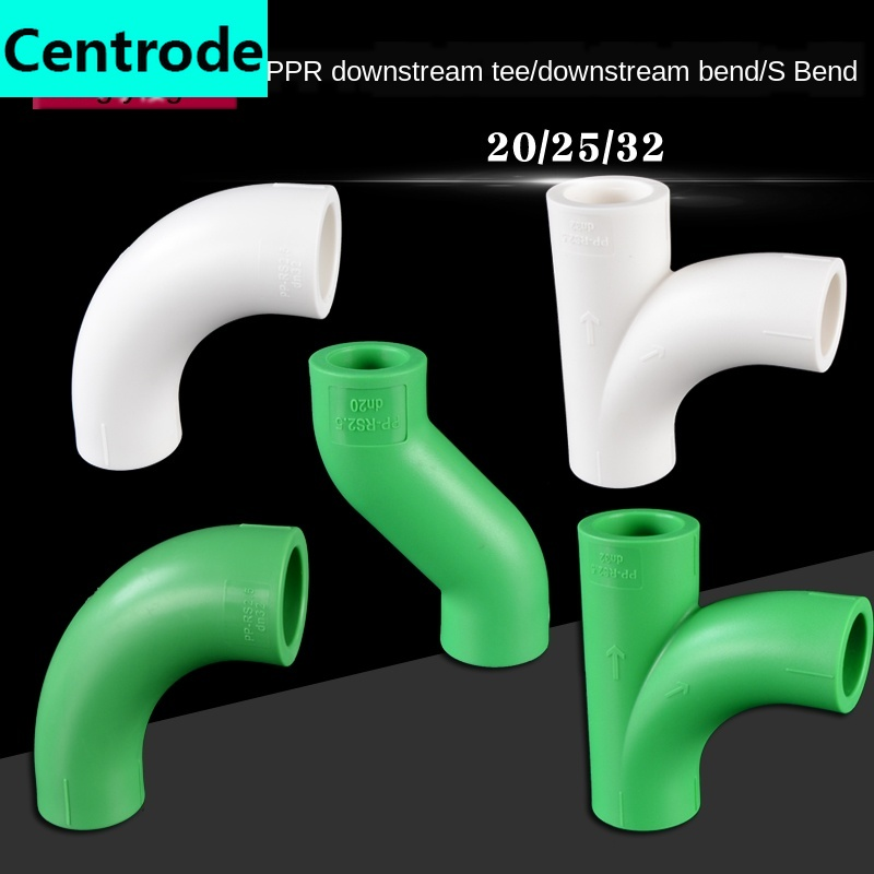 Ppr Elbow Tee Elbow S Bend 1/2IN 3/4IN 1 Inch 20/25 / 32ppr Water Pipe Pipe Hot Melt Joint Fittings