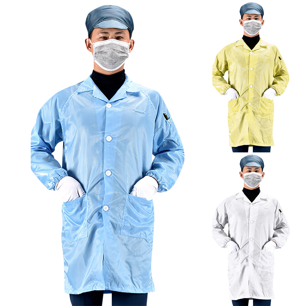 Protective Suit Washable Protection Clothing Hospital Safety Gown Protective Coverall Reusable Anti Bacterial Work Suit D30