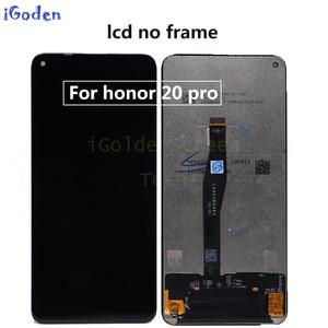 Image 5 - Original Display für Huawei Ehre 20 YAL L21 LCD Touch Screen Digitizer Ersetzen Für Huawei Ehre 20 Pro YAL AL10 YAL L41 LCD